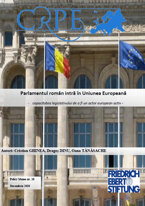 Capacitatea legislativului românesc de a fi un actor european activ