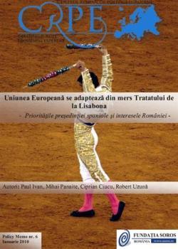 Uniunea Europeană se adaptează din mers Tratatului de la Lisabona