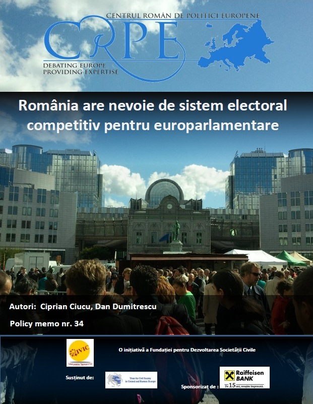ALEGERI EUROPENE: România are nevoie de sistem electoral competitiv pentru europarlamentare