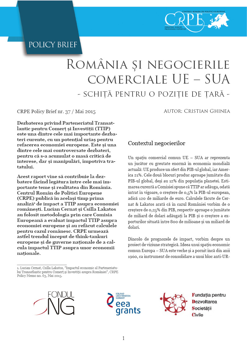 Coperta CRPE Policy Brief 37 TTIP