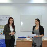 Foto Dezbatere studenti URA Liderjust CRPE Cultura si educatie civica Adelina Brad Silvia Tabusca