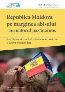 coperta Republica Moldova pe marginea abisului