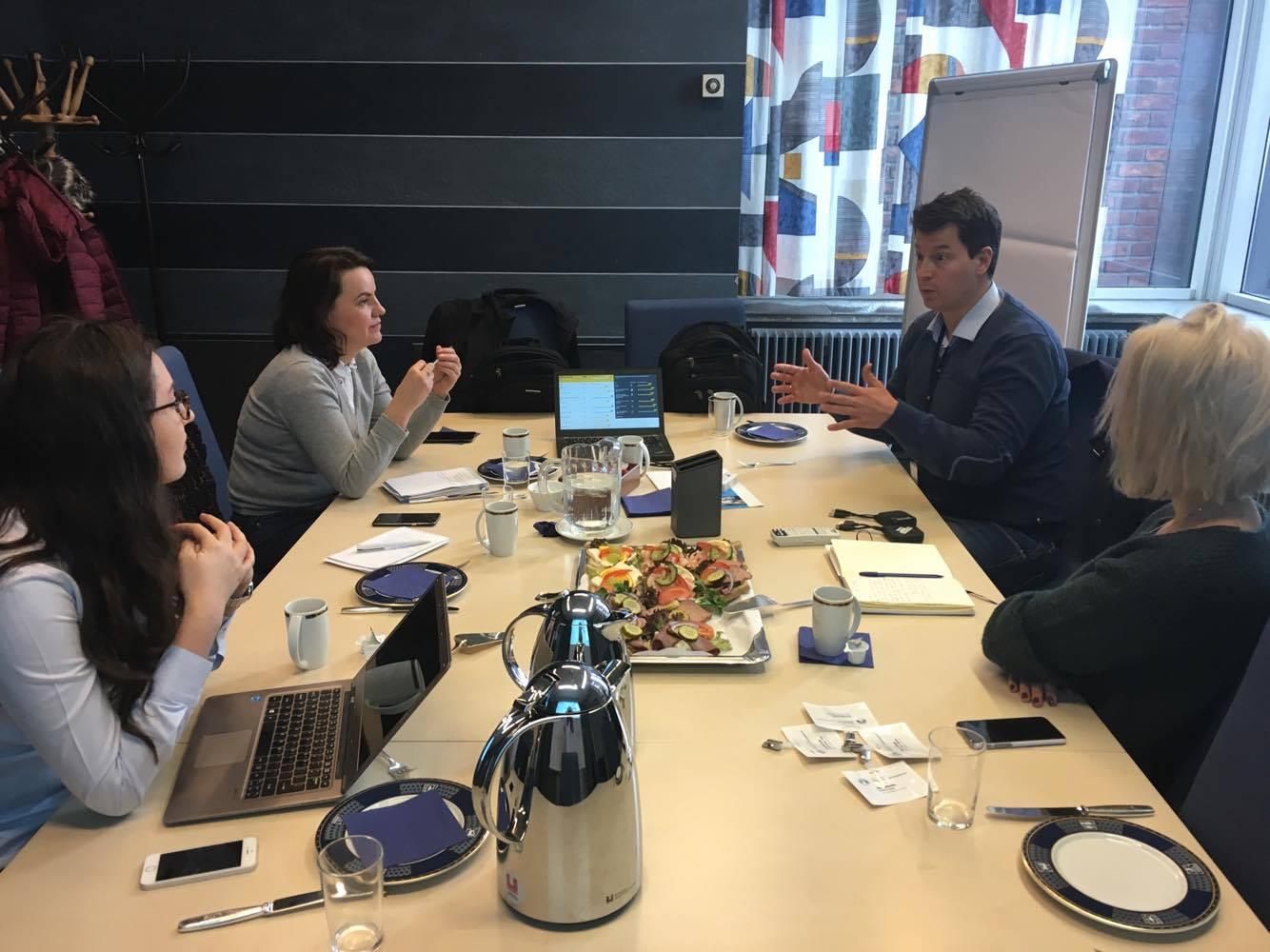 Cetățenie activă, schimb de experiență – întâlniri bilaterale România – Norvegia