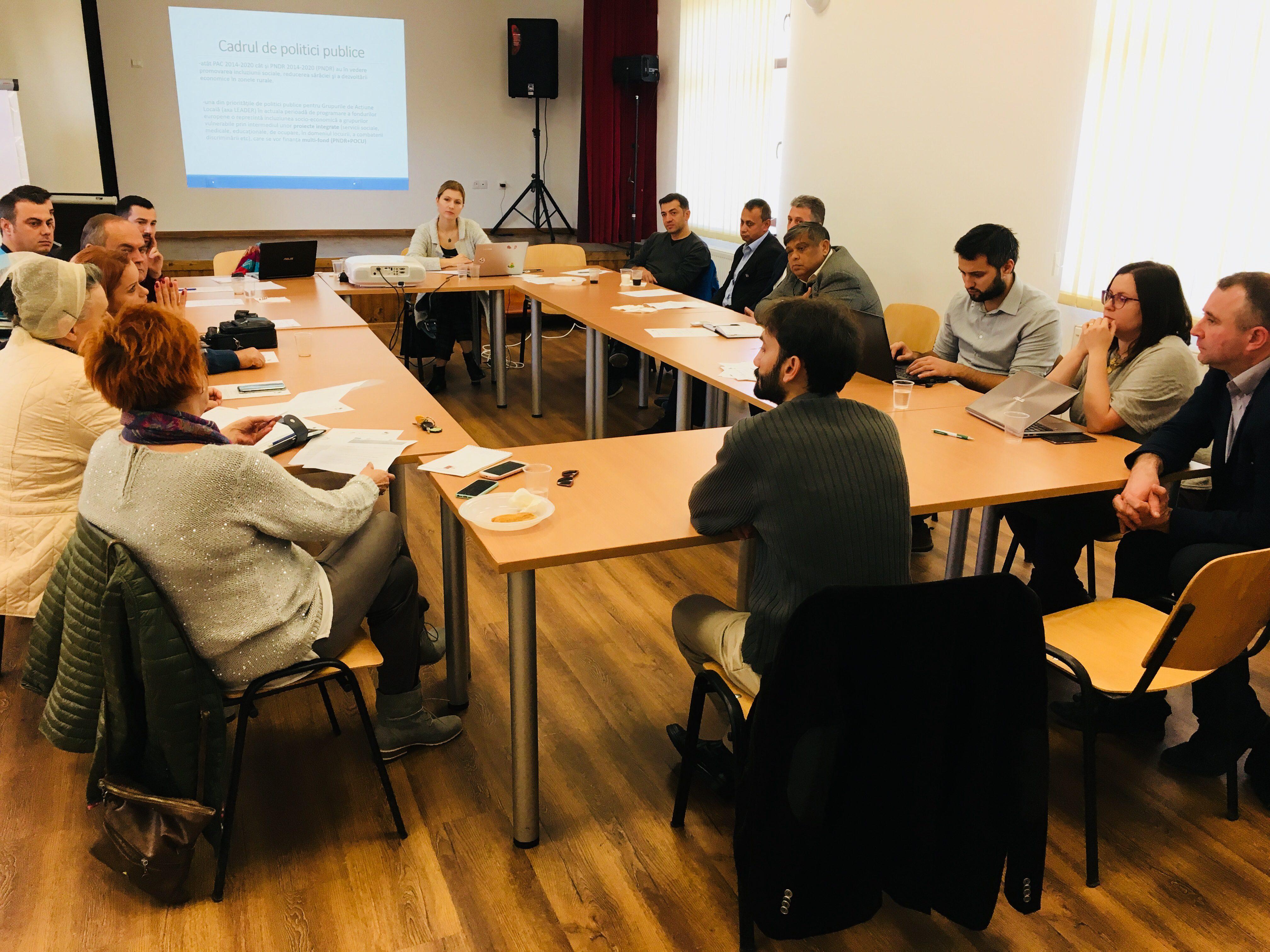 Ateliere regionale – incluziunea romilor și a grupurilor vulnerabile în rural
