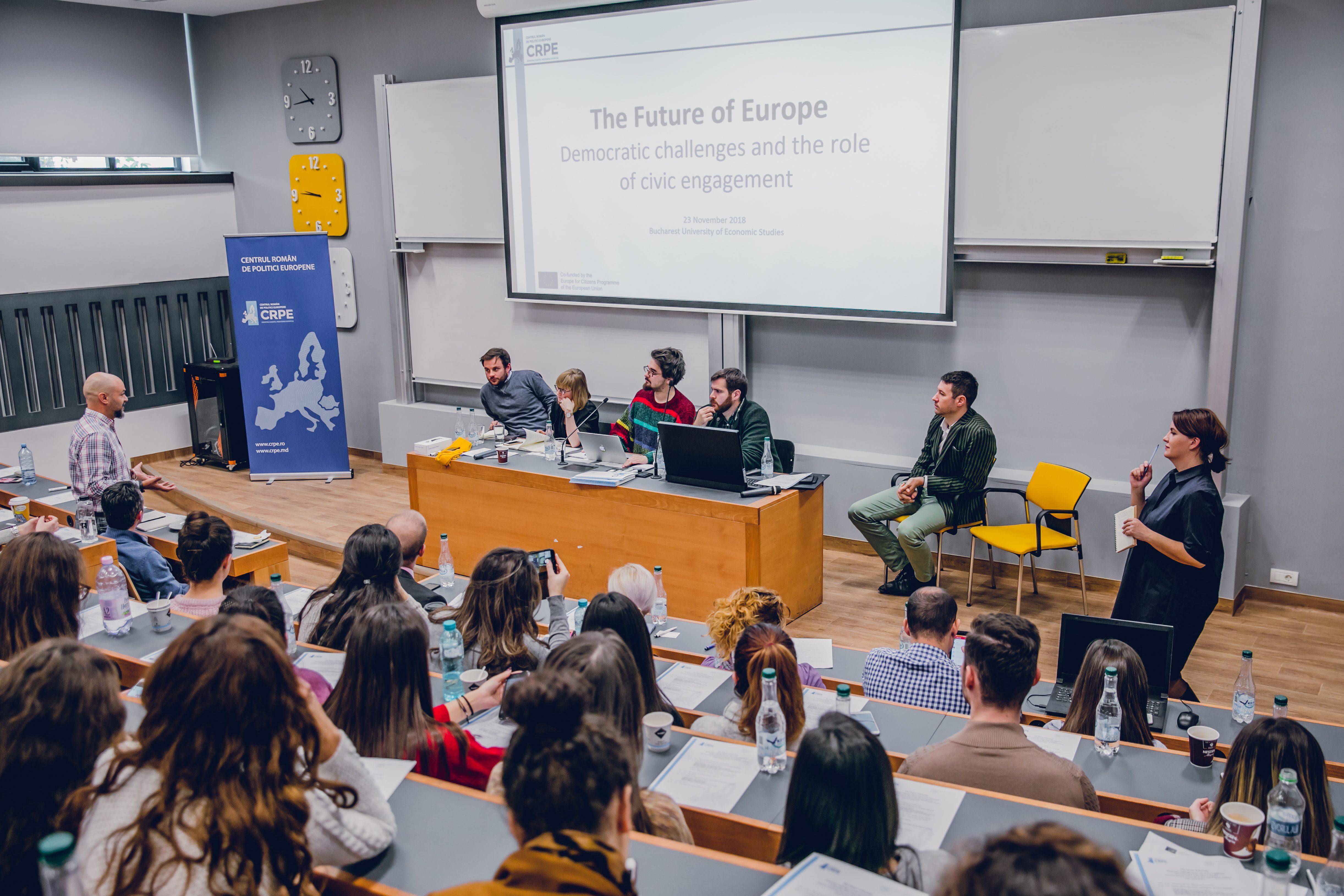 Future of Europe: Provocări democratice în Uniunea Europeană – rolul mișcărilor civice
