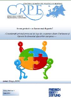 Relația Parlament – Guvern în domeniul afacerilor europene