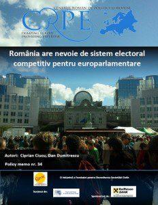 sistem electoral competitiv alegeri europene