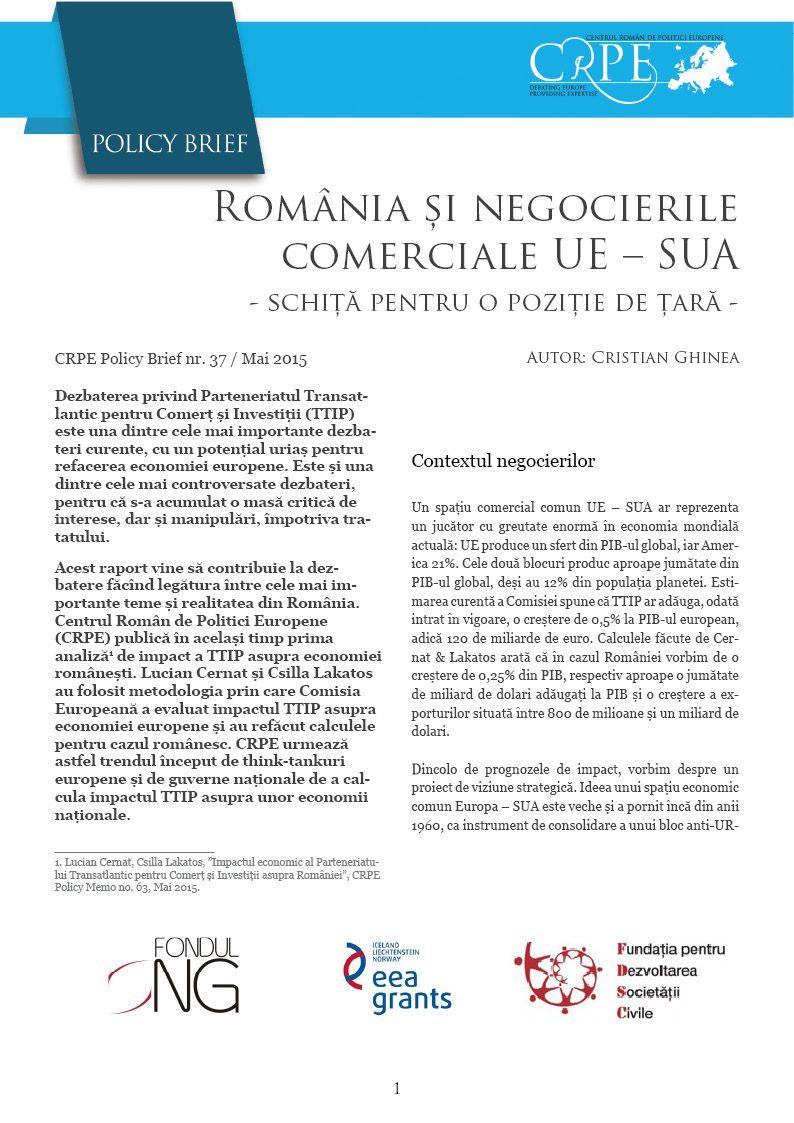 Coperta CRPE Policy Brief 37 TTIP