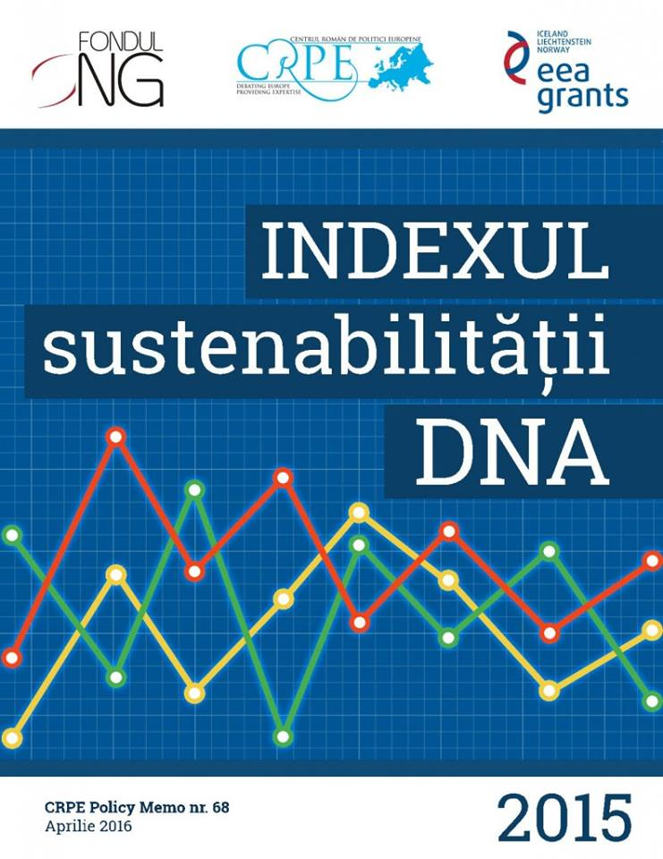 Bucharest, 26 April 2016 – Launch of National Anti-Corruption Directorate (DNA) Sustainability Index  2015