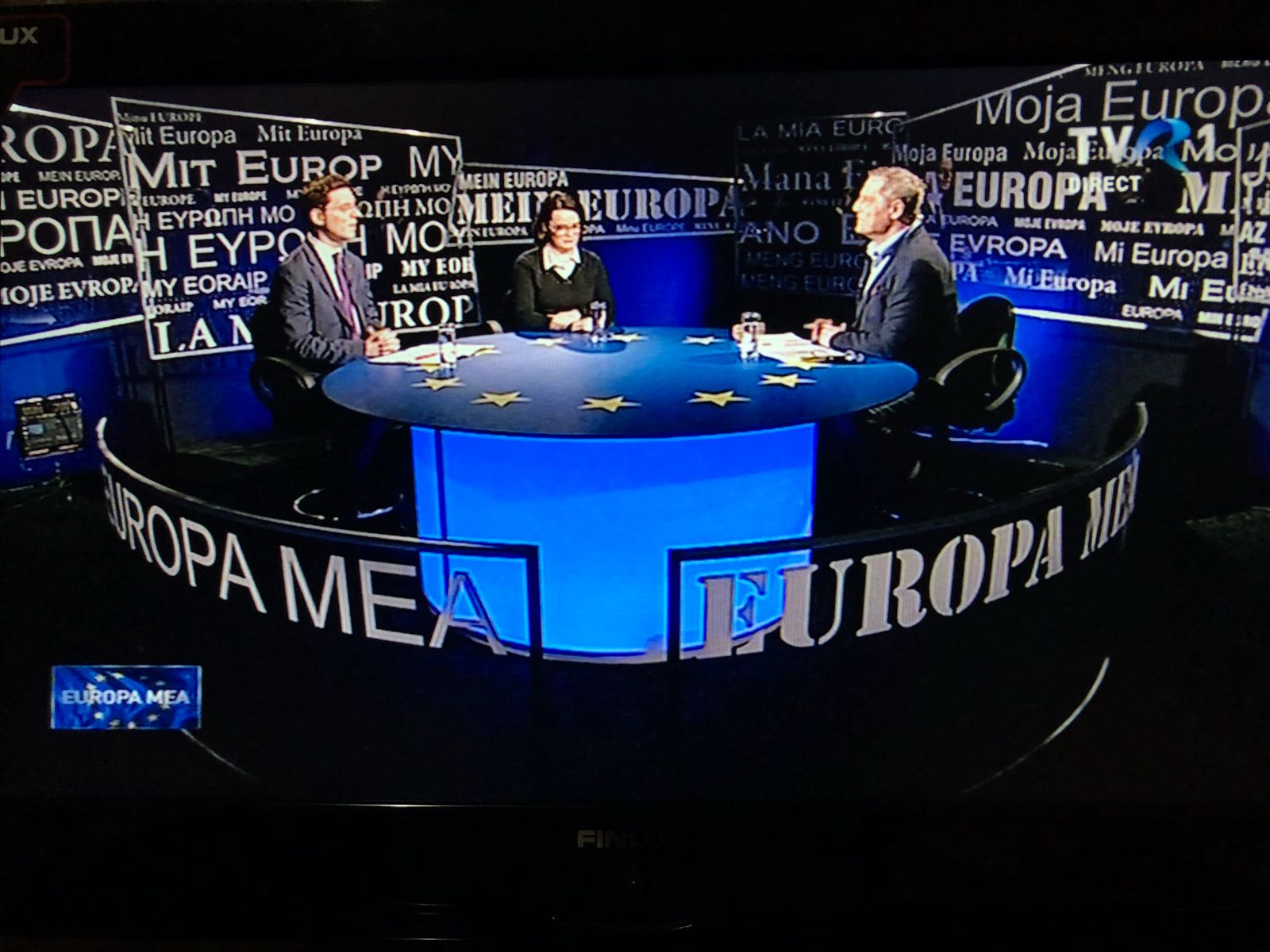 Interviu la TV