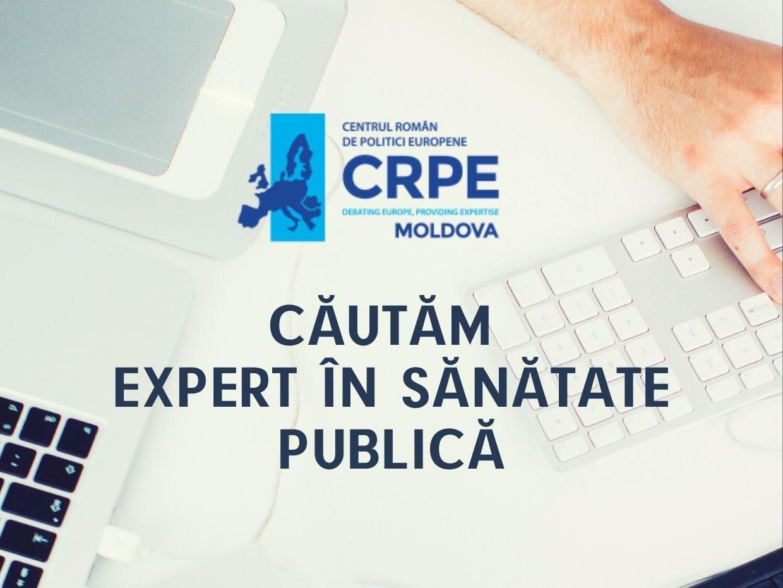 Centrul Român de Politici Europene – R.Moldova este în căutarea unui expert în sănătate publică pentru redactarea unui ghid destinat tinerilor și profesorilor