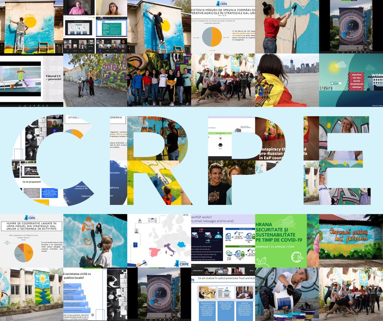 CRPE lansează raportul anual pentru 2020
