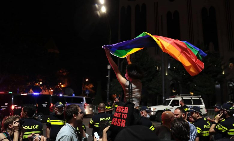 Valul de hate speech și încălcarea drepturilor omului se ridică în regiunea Mării Negre: episodul Tbilisi Pride, Iulie 2021
